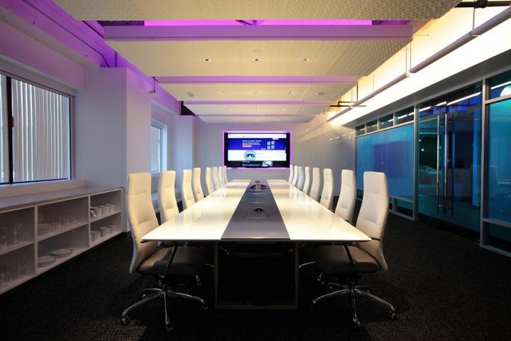 Дизайн интерьера офиса компании AppDynamics