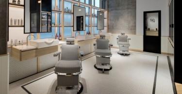 Минимализм и традиции в оформлении нового парикмахерского салона AKIN