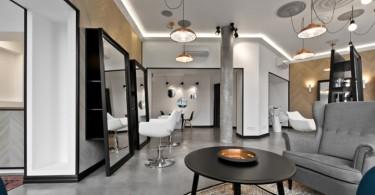 Изумительный салон красоты от студии InArch в Вильнюсе