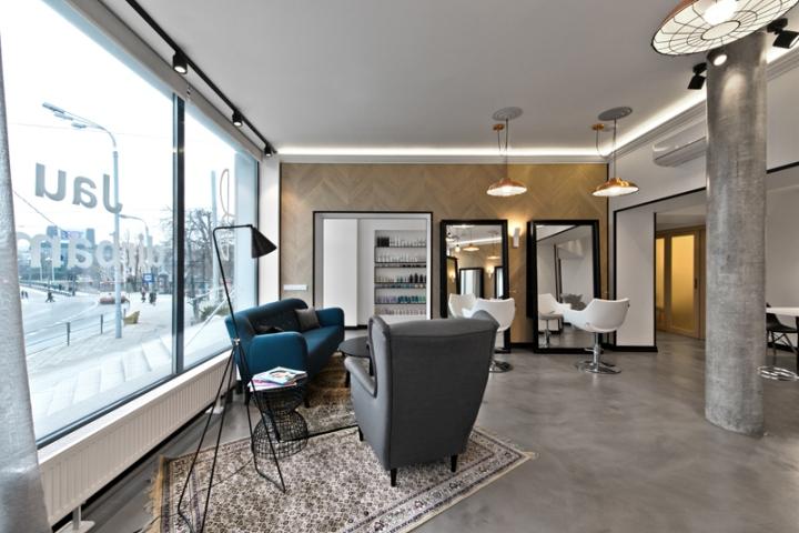 Дизайнерская мебель в салоне-красоты