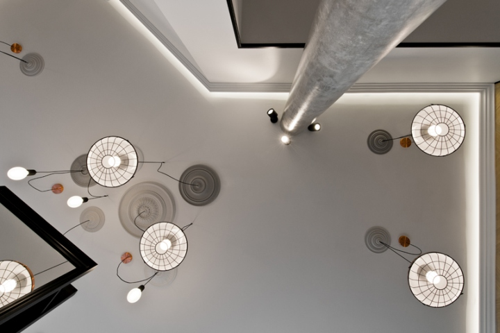 Дизайнерские лампы в салоне-красоты