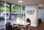 Стильный и элегантный интерьер нового отделения Barber School