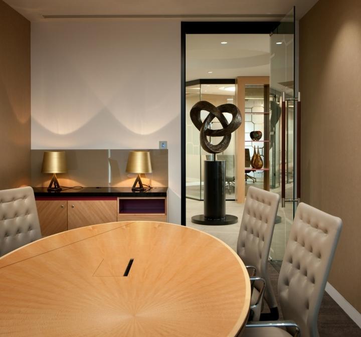 Конференц зал в офисе юридической компании Boodle Hatfield London Office