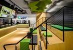 Стильный дизайн во славу новых технологий в интерьере букмекер-центра UBET в Брисбене