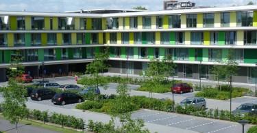 Позитивный экстерьер доброжелательного центра заботы Wolfsbos в Нидерландах