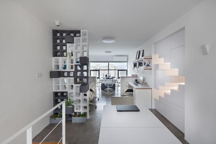 Фото интерьераофис с большими окнами белый