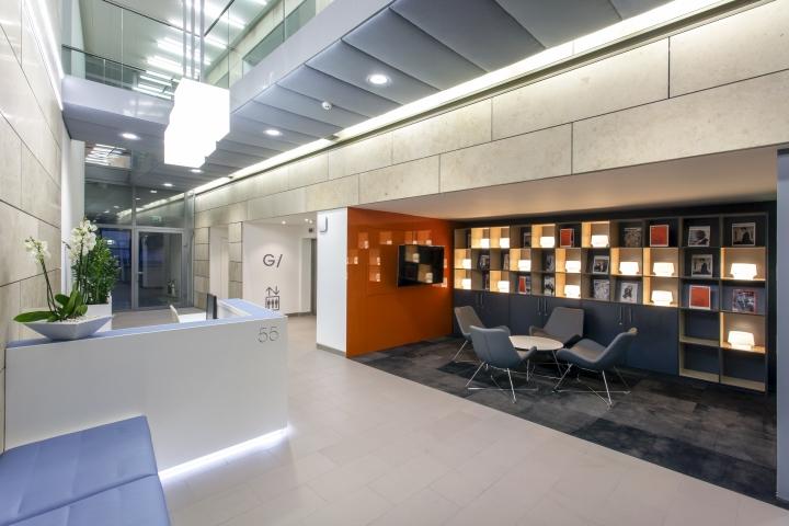 Удивительный дизайн интерьера офиса 55 Princess Street в Англии