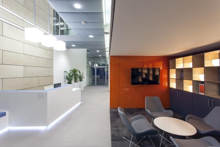 Современный дизайн интерьера офиса 55 Princess Street в Англии