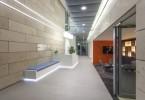Система освещения бизнес-центра 55 Princess Street по проекту Hoare Lea Lighting