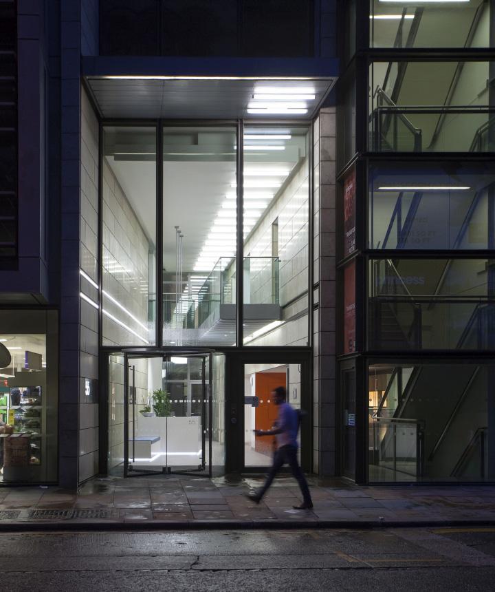 Экстерьер офиса 55 Princess Street в Англии