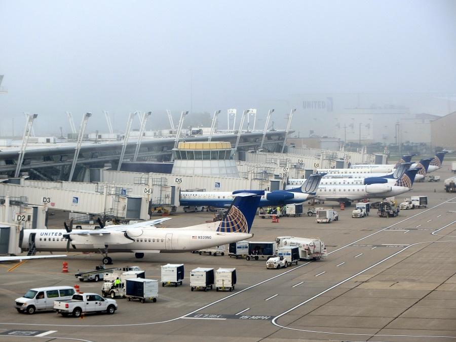 Опасный международный аэропорт