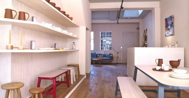 Первый выставочный зал фирмы «Другая страна» в Лондоне
