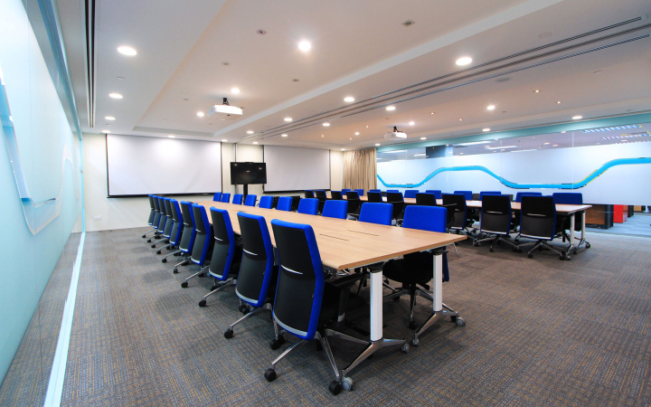 Конференц зал в офисе FMC Technologies