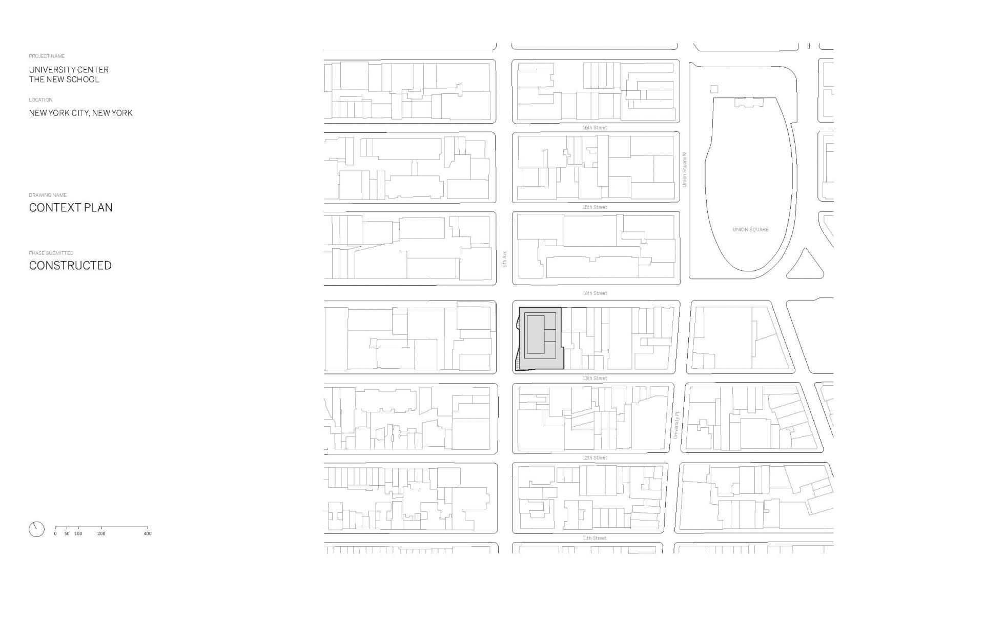 Схема учебного центра Greenwich Village в Нью Йорке - Фото 1