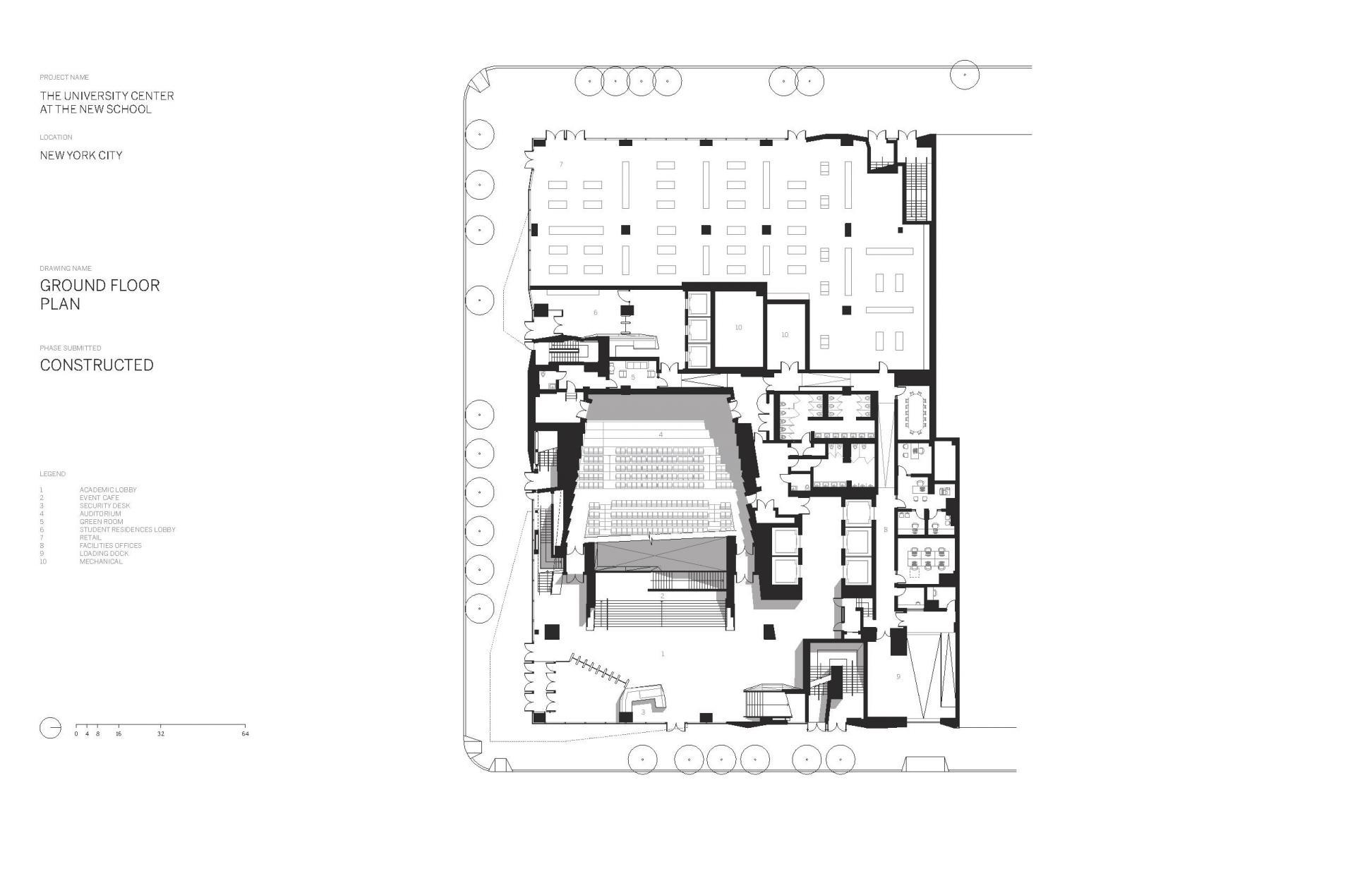 Схема учебного центра Greenwich Village в Нью Йорке - Фото 3