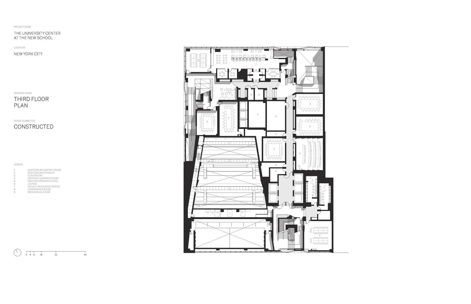 Схема учебного центра Greenwich Village в Нью Йорке - Фото 4