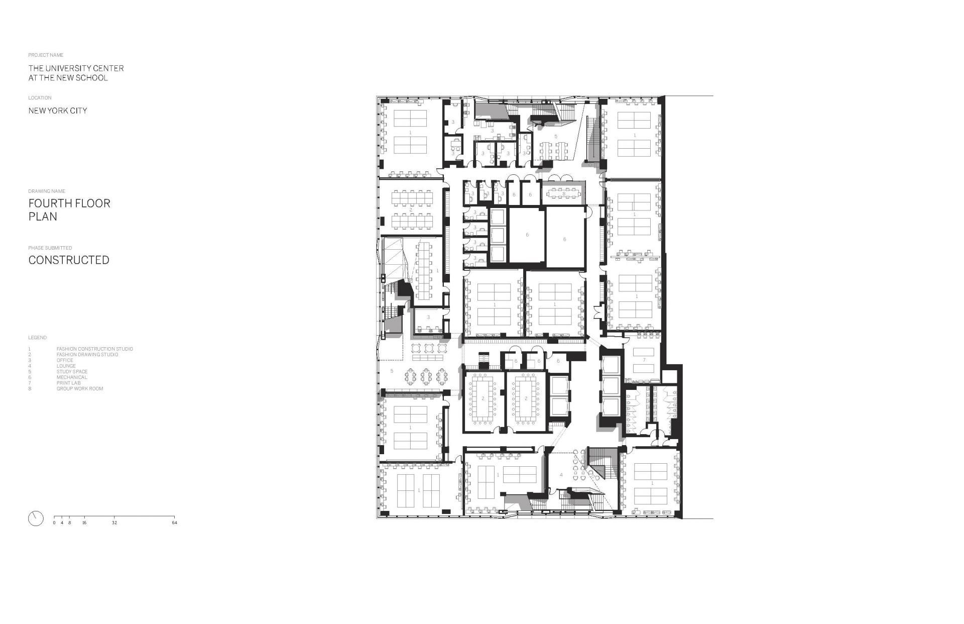 Схема учебного центра Greenwich Village в Нью Йорке - Фото 5