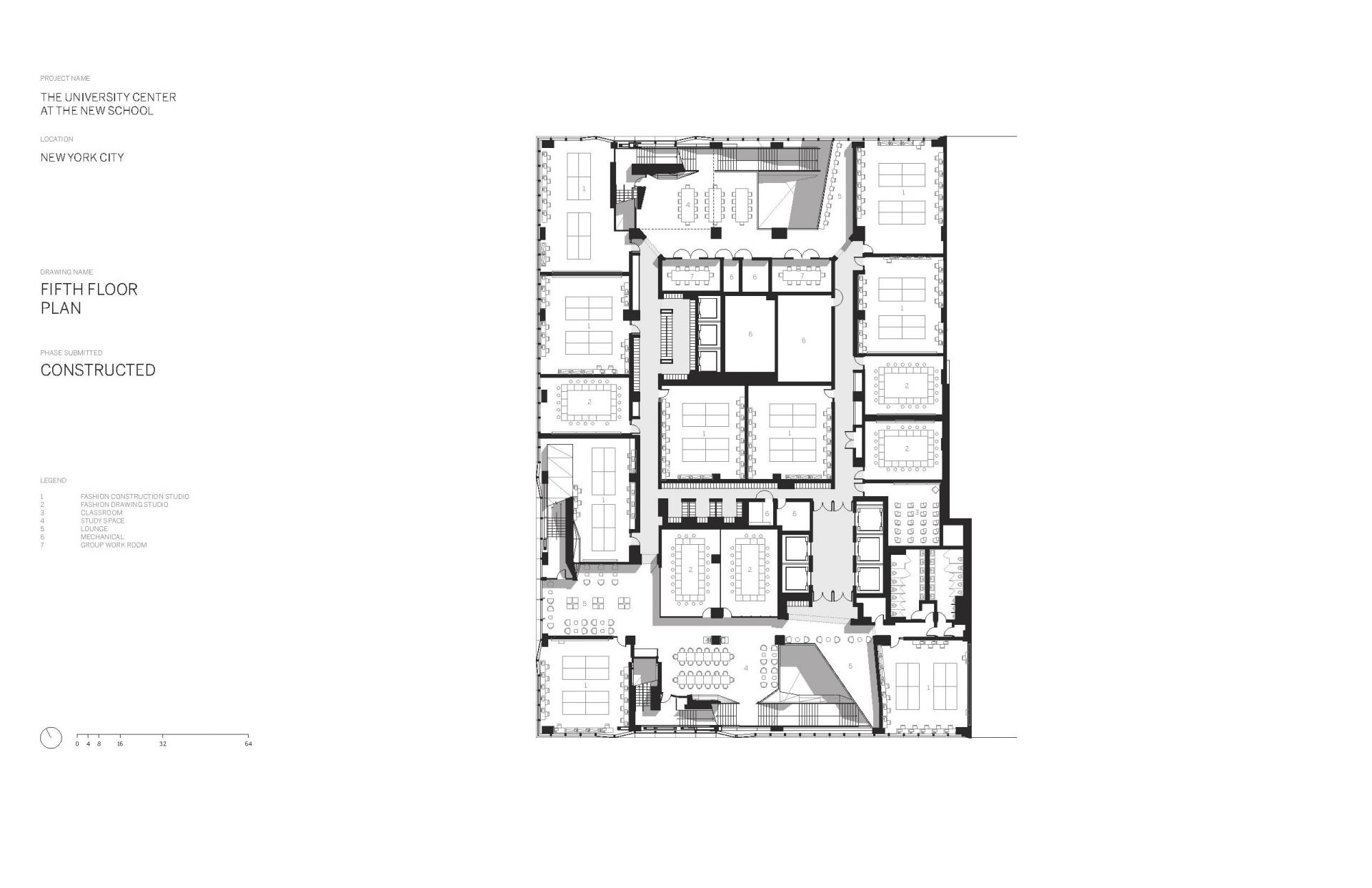 Схема учебного центра Greenwich Village в Нью Йорке - Фото 6
