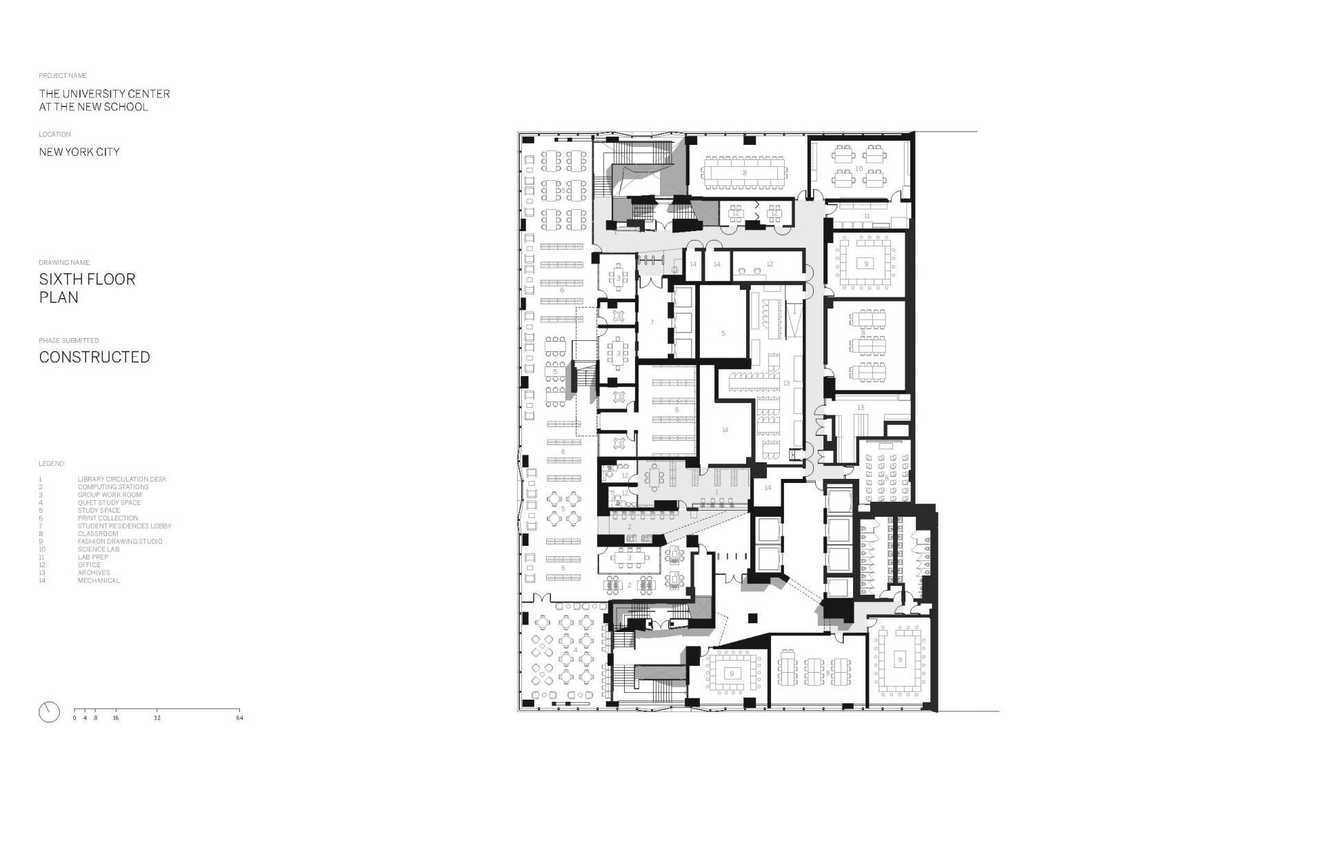Схема учебного центра Greenwich Village в Нью Йорке - Фото 7