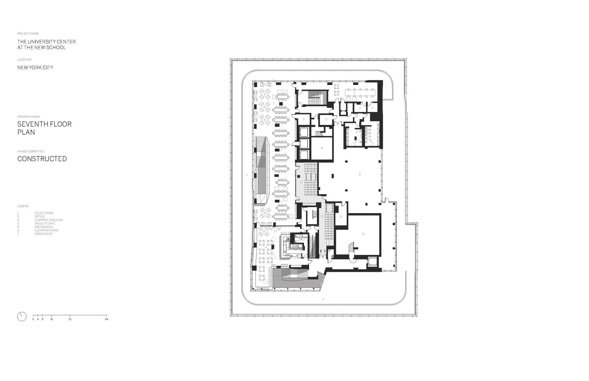 Схема учебного центра Greenwich Village в Нью Йорке - Фото 8