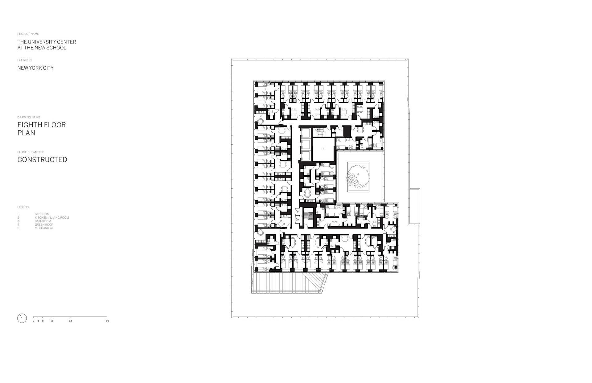 Схема учебного центра Greenwich Village в Нью Йорке - Фото 9
