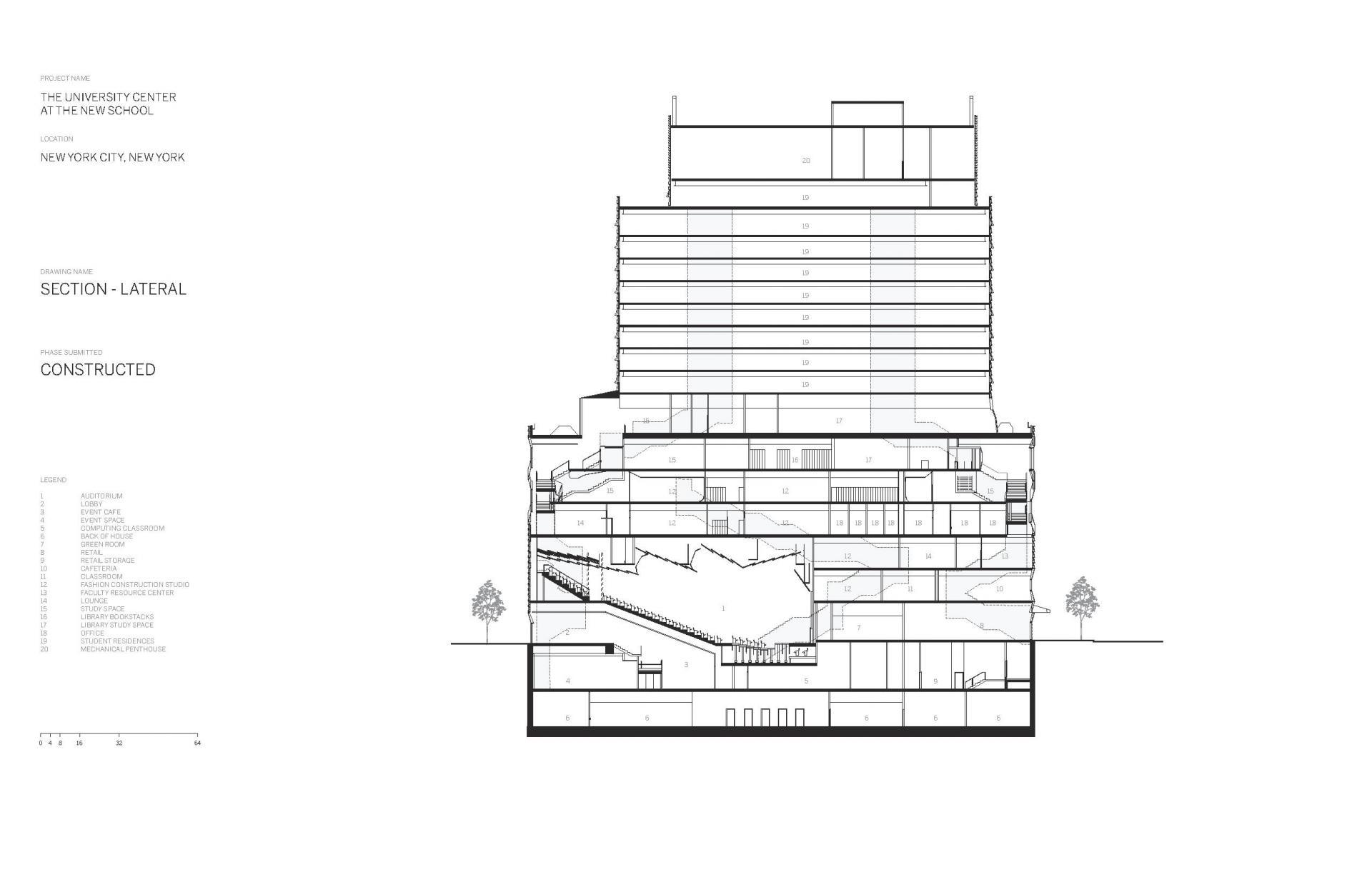 Схема учебного центра Greenwich Village в Нью Йорке - Фото 10