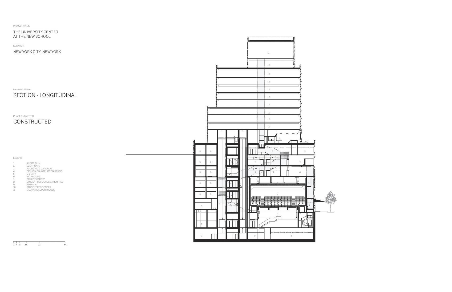 Схема учебного центра Greenwich Village в Нью Йорке - Фото 11