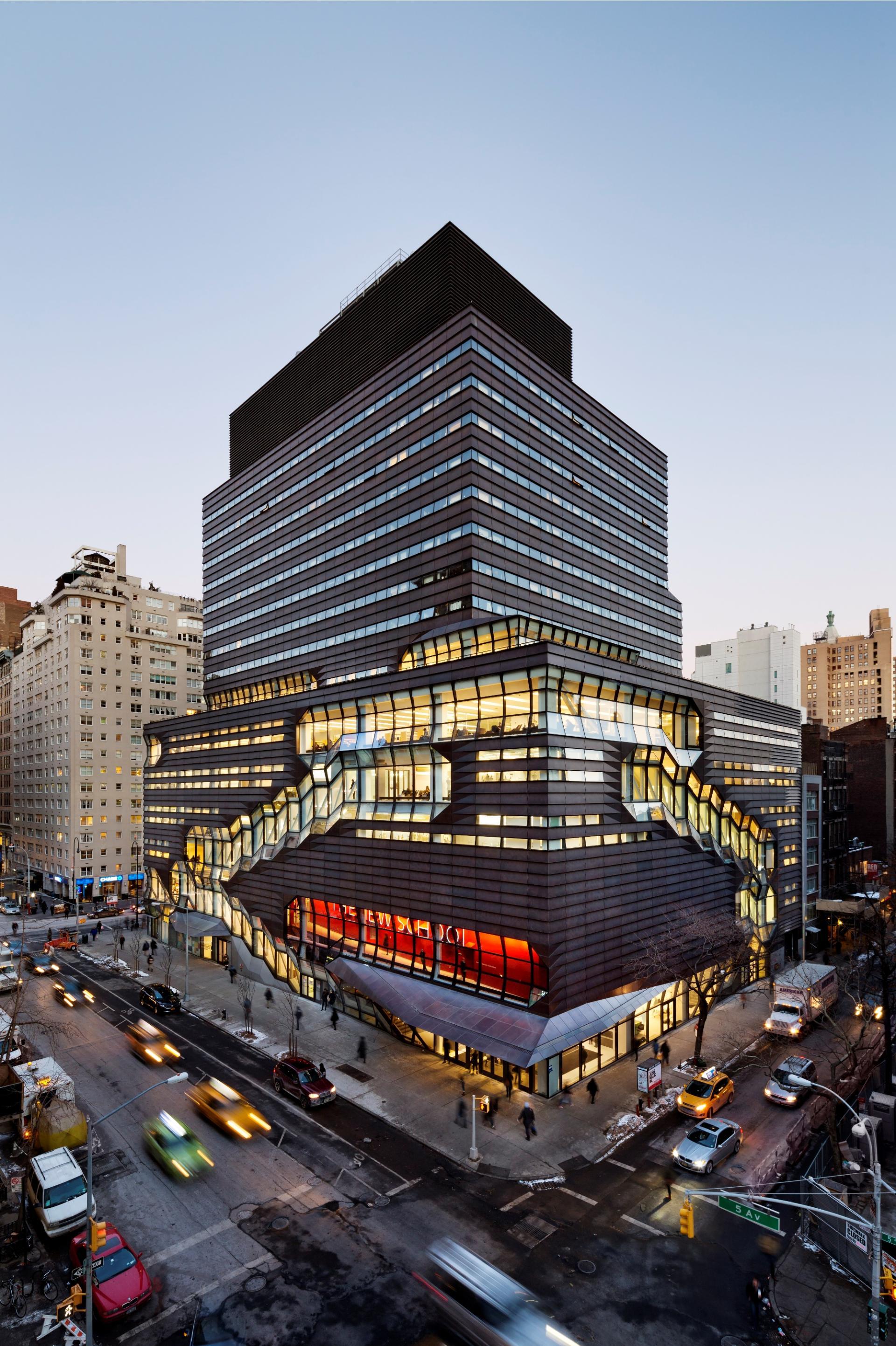 Учебный центр университета Greenwich Village