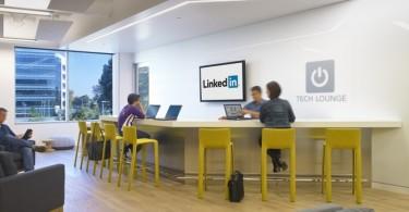 Дизайн офиса компании LinkedIn в Калифорнии
