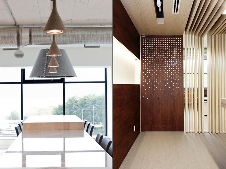 Панорамные окна и деревянные панели
