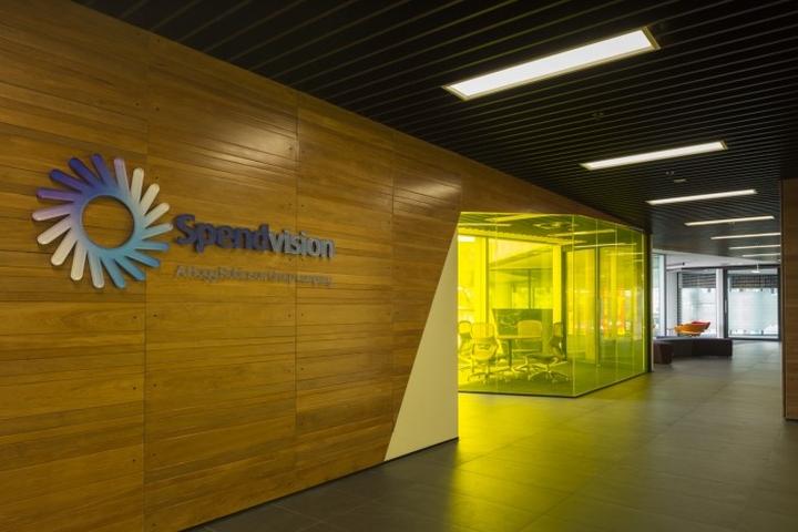 Яркий логотип офиса Spendvision