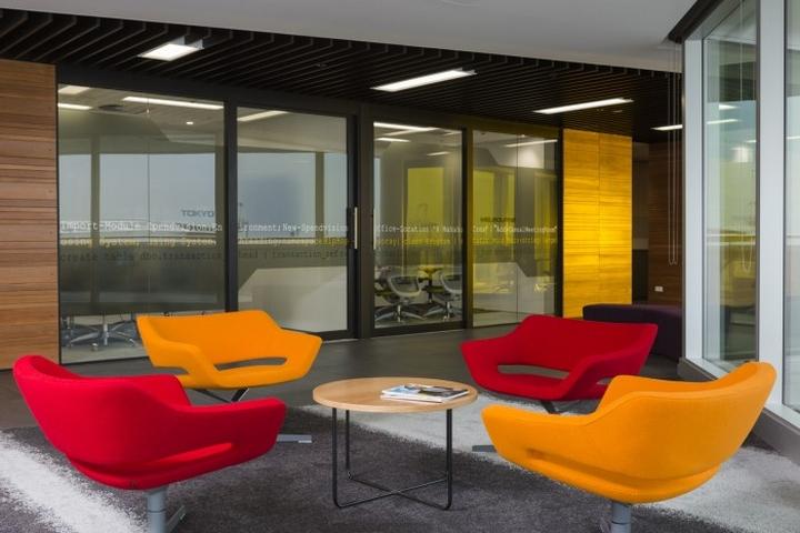 Место для переговоров в офисе Spendvision