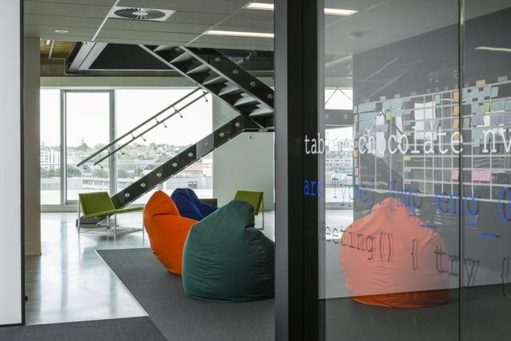 Место для отдыха сотрудников офиса Spendvision