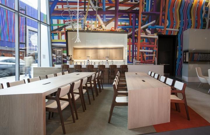 Удивительное оформление центра современного искусства от FRCH Design Worldwide в США