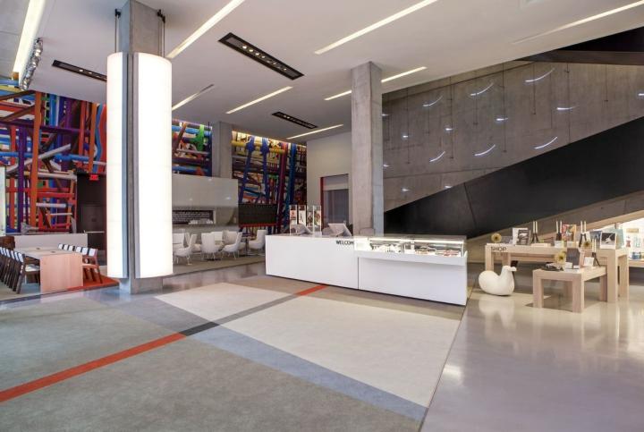 Уникальное оформление центра современного искусства от FRCH Design Worldwide в США