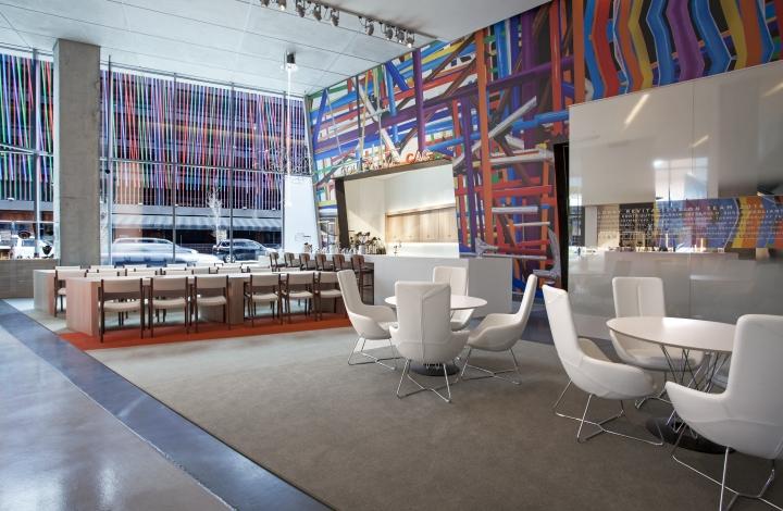 Необычное оформление центра современного искусства от FRCH Design Worldwide в США