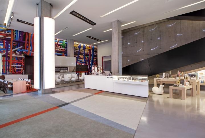 Дизайн интерьера центра современного искусства от FRCH Design Worldwide в США