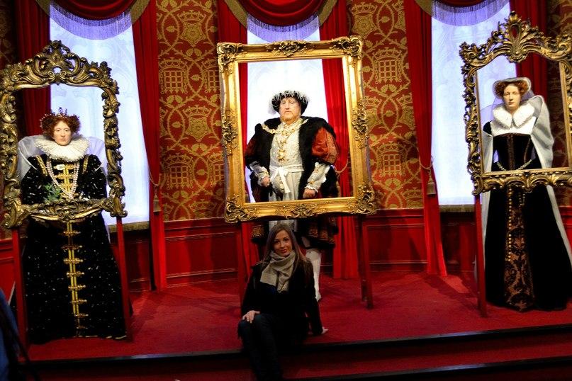 Экспонаты в музее мадам Тюссо