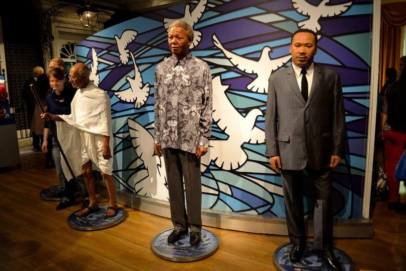 Знаменитые экспонаты в музее мадам Тюссо