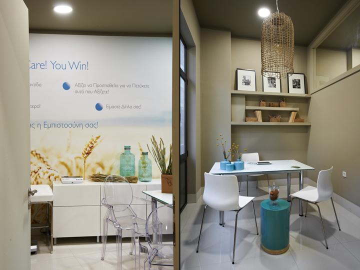 Интерьер кабинета в центре здорового питания Medicare Vita в Афинах