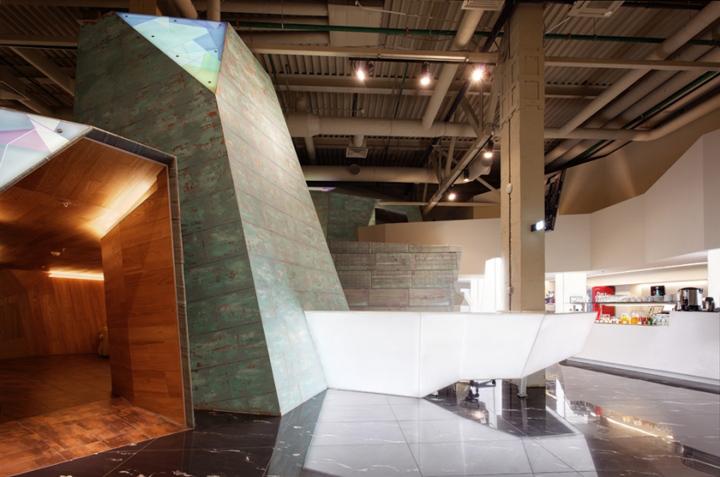 Дизайн интерьера комнаты отдыха в аэропорту