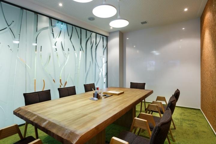 Зал переговоров в офисе