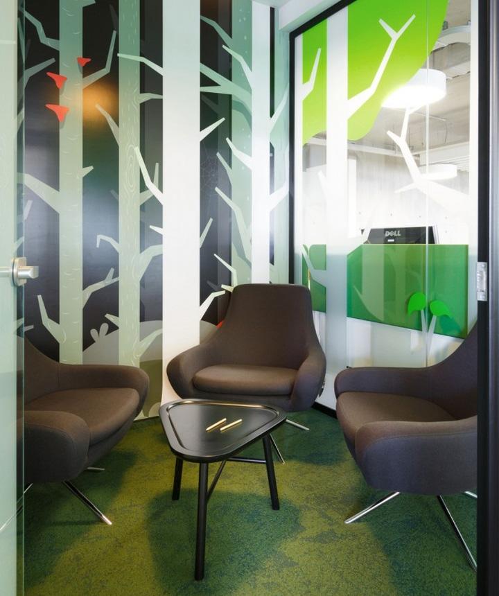 Мягкие кресла в офисе
