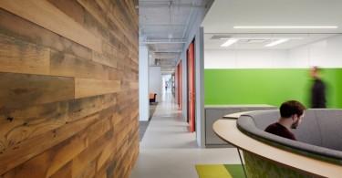 Неповторимый современный офис компании Cision в Чикаго