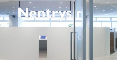 Невероятный прозрачный дизайн офиса Nentrys