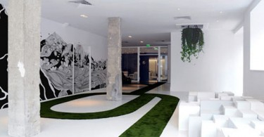Креативный интерьер офиса в природном стиле активирует мышление