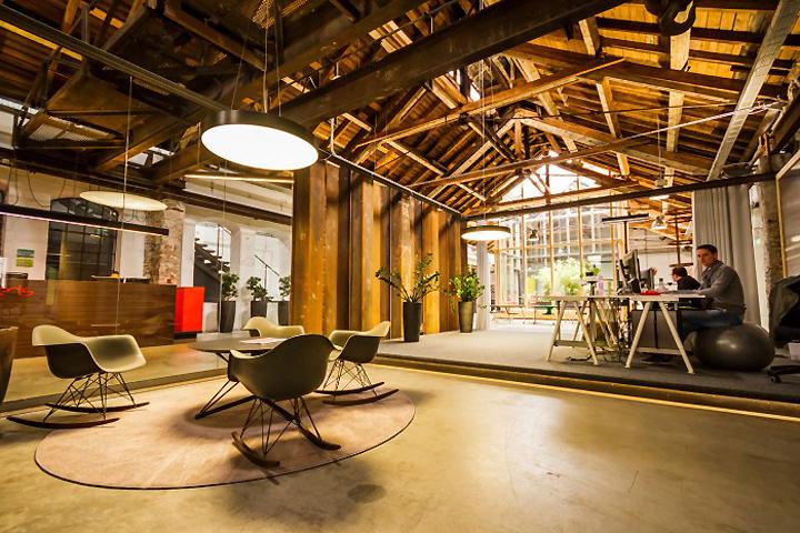 Дизайн светлого офиса Elements