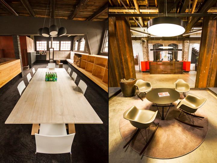 Дизайн зоны для переговоров офиса Elements