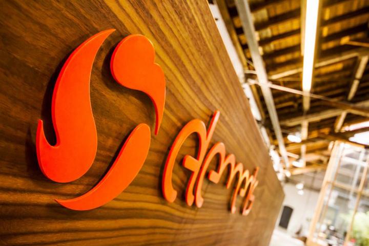 Дизайн логотипа офиса Elements