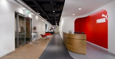 Креативное оформление офиса Puma в Лондоне